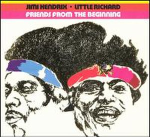 Friends from the Beginning – Little Richard and Jimi Hendrix - Image: Littlerichardjimihen drixfriends