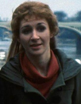 Caroline John - John as Liz Shaw on Doctor Who in 1970