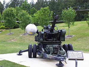 M167 VADS - This M167 fired on enemy aircraft during the Persian Gulf War