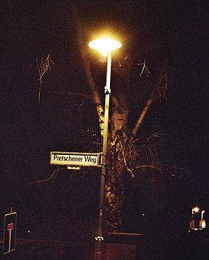 Lamplighter - Modern gas street light in Berlin, Germany (2005)