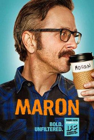 Maron (TV series) - Image: Maron IFC Promotional Poster