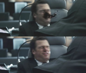 Max Payne (film) - Above: Unrated. Below: PG-13. As seen on the DVD Moore had to remove some of the blood to get a PG-13 rating