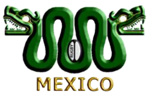 Mexico national rugby union team - Image: Mexico snakes