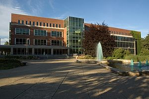 Michigan State University Libraries - The main building of MSUL
