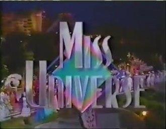Miss Universe 1989 - Miss Universe 1989 Titlecard