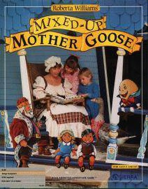 Mixed-Up Mother Goose - Image: Mixed Up Mother Goose cover