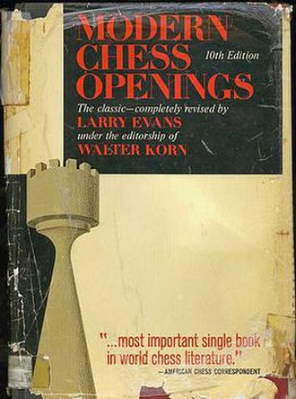 Modern Chess Openings - A worn copy of the tenth edition (1965)