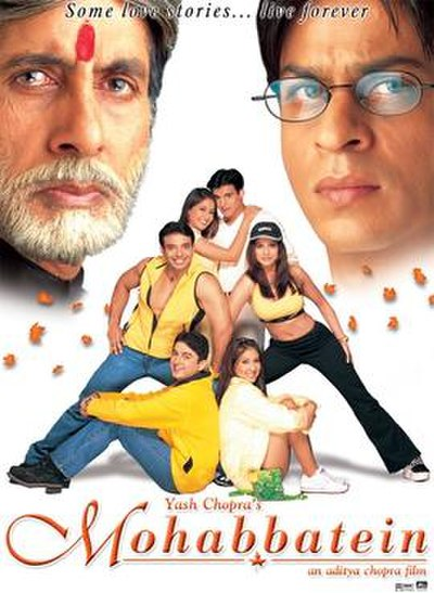 Picture of a movie: Mohabbatein