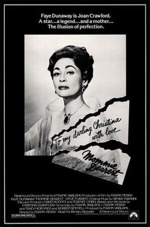 Mommie Dearest (film) - Theatrical release poster