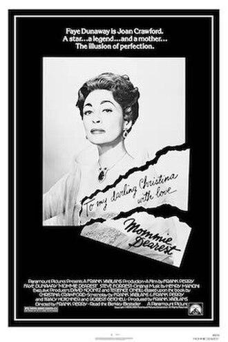 Mommie Dearest (film) - Theatrical release poster