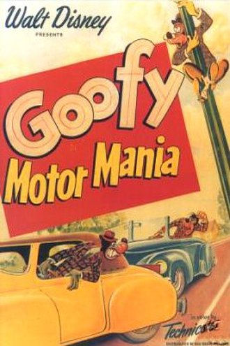 Motor Mania - Motor Mania poster.