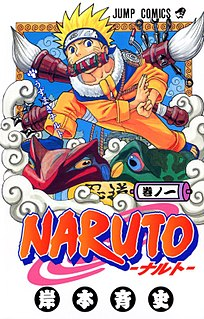 <i>Naruto</i> Japanese manga series by Masahi Kishimoto and its anime adaptation