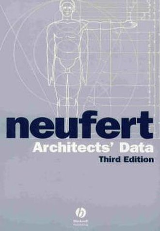 Architects' Data - Cover of the 3rd English edition