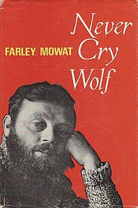 Book cover for Never Cry Wolf