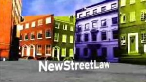 New Street Law - Image: New Street Law titles