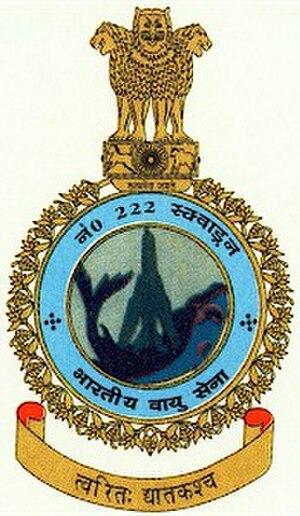No. 222 Squadron IAF - Image: No. 222 Squadron IAF Crest