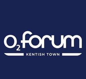 London Forum - Image: O2 Forum Kentish Town Logo