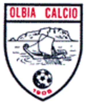 Olbia Calcio 1905 - The white logo as Olbia Calcio