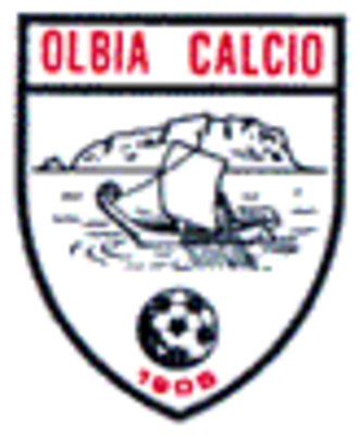 Olbia Calcio 1905 - The white logo as Olbia Calcio