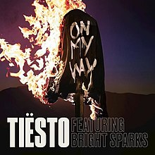 on my way tiësto song wikipedia
