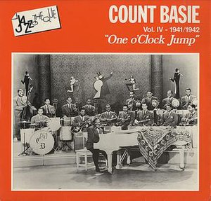 One O'Clock Jump - Image: One O'Clock Jump cover