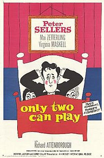 <i>Only Two Can Play</i> 1962 film by Sidney Gilliat