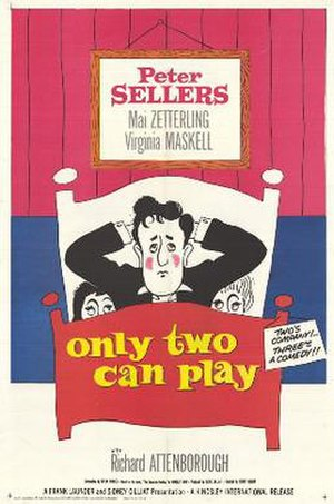 Only Two Can Play - US cinema poster