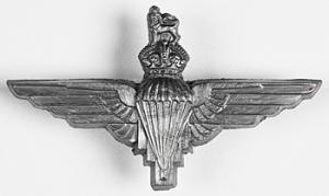 9th (Eastern and Home Counties) Parachute Battalion - Cap badge of the Parachute Regiment