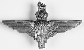 10th Parachute Battalion (United Kingdom) - Image: Parachute Regiment cap badge