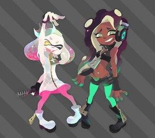 Pearl and Marina Fictional characters