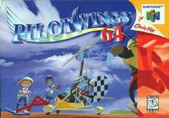 Pilotwings 64 - North American Nintendo 64 cover art