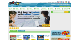 Pogo.com free online gaming website (888) 203 -9661