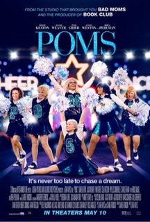 <i>Poms</i> (film) American comedy dance film, directed by Zara Hayes
