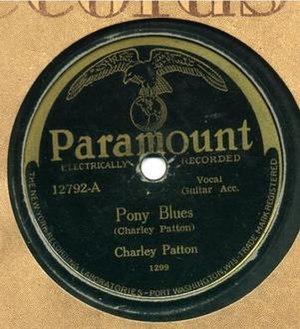 Pony Blues - Image: Pony Blues