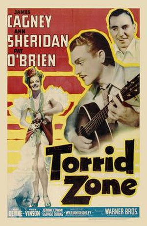 Torrid Zone - Theatrical poster