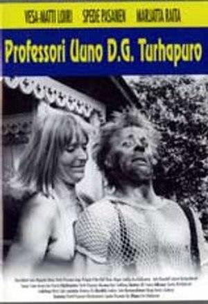 Professori Uuno D.G. Turhapuro - DVD cover.