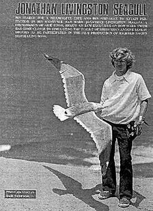 "Mark Smith (R/C modeling pioneer) - Mark Smith with ""Jonathan Livingston Seagull"""