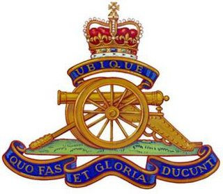 20th Field Artillery Regiment, RCA reserve artillery regiment of the Canadian Army