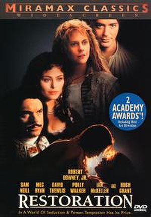 Restoration (1995 film) - DVD cover
