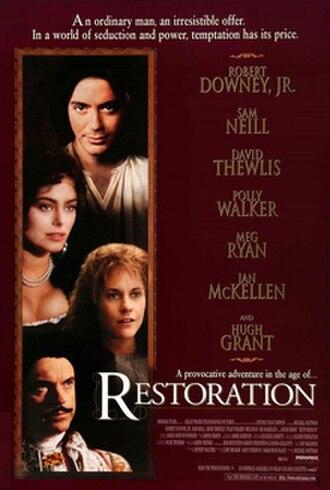 Restoration (1995 film) - DVD cover