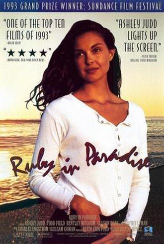 Ruby in Paradise - Theatrical release poster