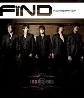 Find (SS501 EP) - Image: SS501 Find