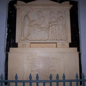 Christian Friedrich Schwarz - Image: Schwarz Memorial at CSI Church, Tanjore