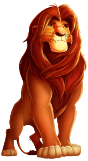 Simba main character of The Lion King