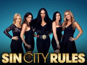 Sin City Rules - Jennifer Harman, Lori Montoya, Lana Fuchs, Amy Hanley, and Alicia Jacobs (from left)