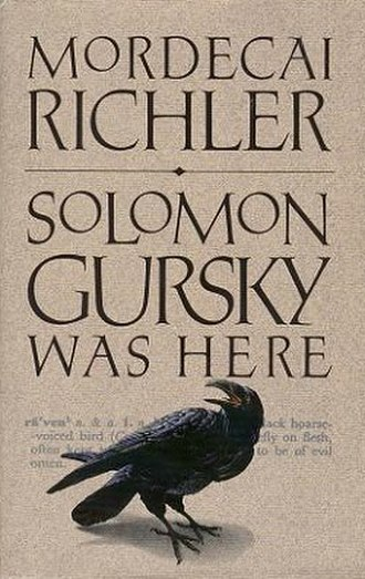 Solomon Gursky Was Here - First edition