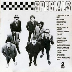 The Specials (album) - Image: Specials uk front