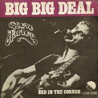 Big Big Deal - Image: Steve Harley Big Big Deal Belgian Cover 1974 Single
