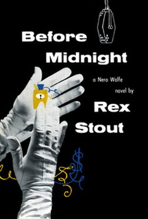 <i>Before Midnight</i> (novel) book by Rex Stout