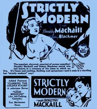 Strictly Modern - Theatrical poster